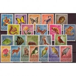Togo - Nr 385 - 06 1964r - Ptaki - Ryby - Ssaki