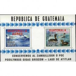 Gwatemala - Bl 101970r - Ptaki