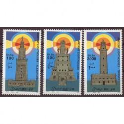 Somalia - Nr 976 - 78 2002r -  Latarnie