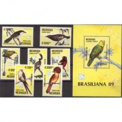 Nikaragua - Nr 2943 - 49 Bl 1841989r - Ptaki