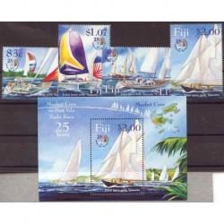 Fiji - Nr 1080 - 83 Bl 46 2004r - Marynistyka