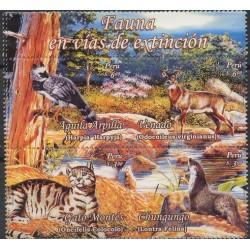 Peru - Nr 2201 - 042007r - Ptaki , Ssaki , Ryba