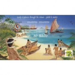 Niuafo'ou - Bl 23 1999r - Marynistyka