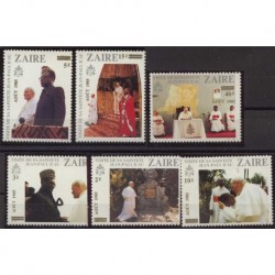 Zair - Chr 721985r - Papież