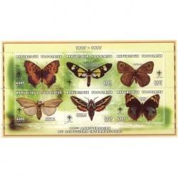 Togo - Nr 2666 - 71 1997r - Motyle