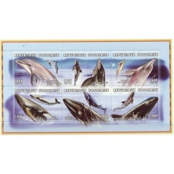 Togo - Nr 2648 - 53 1997r - Ssaki morskie