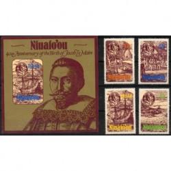 Niuafo'ou - Nr 052 - 55 - Bl 21985r - Marynistyka