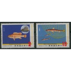 Tajwan - Nr 1528 - 29 1983r - Ryby