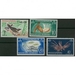 Nowe Hebrydy - Nr 216 - 191965r - Ptaki - Ryby