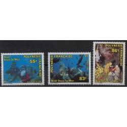Polinezja Fr. - Nr 596 - 98 1991r - Fauna Mor