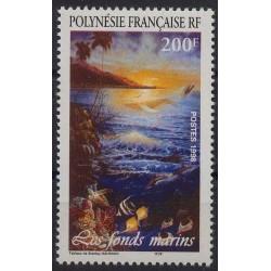 Polinezja Fr. - Nr 770 1998r. - Ryby
