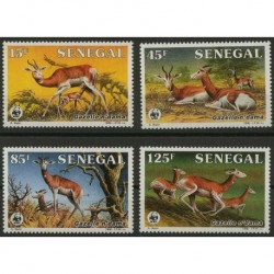 Senegal - Nr 875 - 78 1986r - WWF - Ssaki