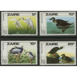 Zair - Nr 904 - 07 1985r - Ptaki.