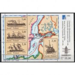 Finlandia - Bl 2 1986r - Marynistyka