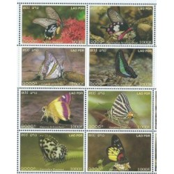 Laos - Nr 1859 - 66 2003r - Motyle