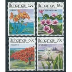 Bahama - Nr 817 - 20 1993r - Kwiaty - Drzewa