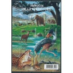 Francja - Bl 862008r - Dinozaury