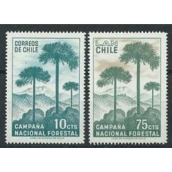 Chile - Nr 663 - 641967r - Drzewa
