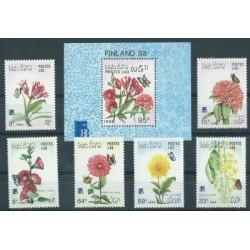 Laos - Nr 1098 - 03 Bl 1241988r - Kwiaty