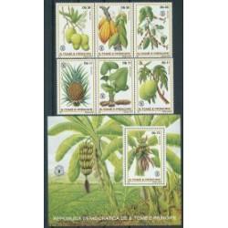 St Tome - Nr 744 - 49 Bl 791981r - Owoce
