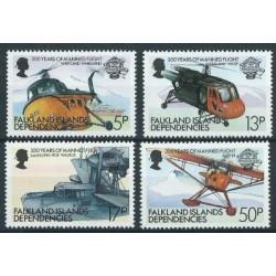 Falklandy Dep. - Nr 117 - 20 1983r - Samoloty