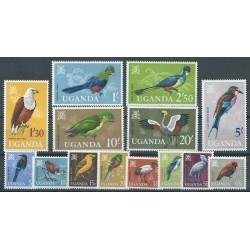 Uganda - Nr 087 - 00 1965r - Ptaki