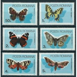 Rumunia - Nr 4159 - 64 1989r - Motyle
