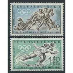 Czechosłowacja - Nr 1183 - 84 1960r -Sport - Oolmpiada