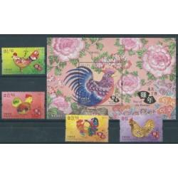 Hong Kong - Nr 2090 - 95 Bl 315 2017r - Ptaki