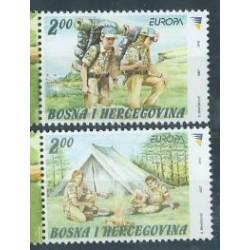 Bośnia i Hercegowina S. - Nr 476 - 77 2007r - CEPT - Scauting