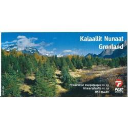 Grenlandia - Nr 580 - 81 MH 2011r - CEPT - Drzewa