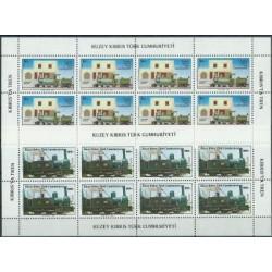Cypr Tur. - Nr 197 - 98 Klb 1986r - Kolej