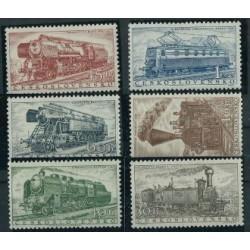Czechosłowacja - Nr 988 - 93 1956r - Kolej