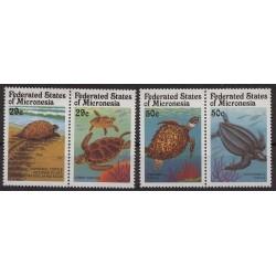 Mikronezja - Nr 215 - 181991r - Fauna morska - Gady