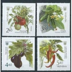 Ukraina - Nr 1572 - 75 2017r - Warzywa