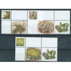 Namibia - Nr 1247 - 49 2007r - Kwiaty
