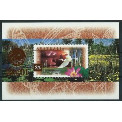 Australia - Bl 24 III 1997r - Ptaki