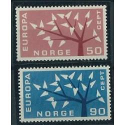 Norwegia - Nr 476 - 77 1962r - CEPT