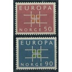 Norwegia - Nr 498 - 99 1963r - CEPT