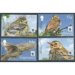 Guernsey - Nr 1606 - 09 2017r - WWF - Ptaki