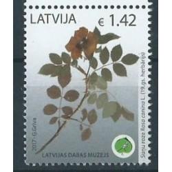 Łotwa - Nr 1009 2017r - Kwiaty