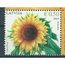 Łotwa - Nr 940 2015r - Kwiaty