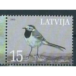 Łotwa - Nr 596 2003r - Ptaki