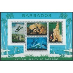 Barbados - Bl 10 1997r - Ryby - Krajobrazy