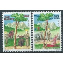San Marino - Nr 1713 - 14 1997r - CEPT - Drzewa