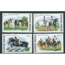 Togo - Nr 1057 - 60 1974r - Konie