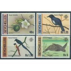 Seszele - Nr 422 - 25 1978r - Ptaki - Gady