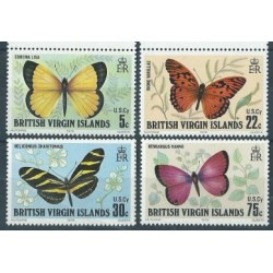 Wyspy Dziewicze - Nr 344 - 47 1978r - Motyle