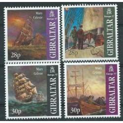 Gibraltar - Nr 783 - 86 1997r - CEPT -  Marynistyka