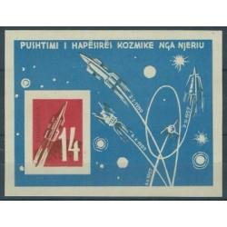 Albania - Bl 10 B 1962r - Kosmos